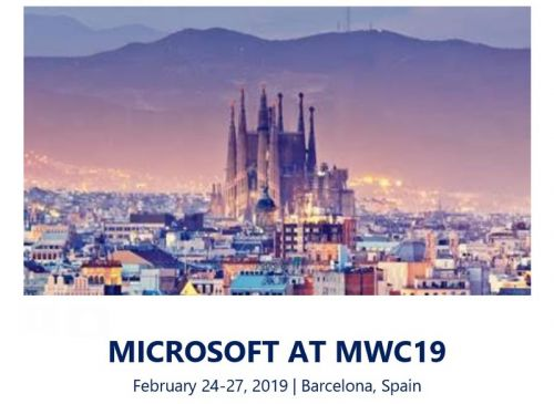 Microsoft to hold press event at Mobile World Congress 2019