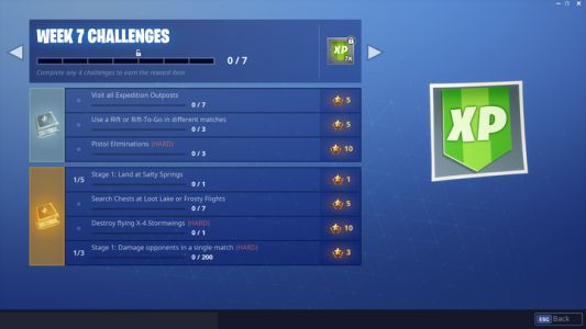 Fortnite Week 7 Challenges: What To Do For Expedition Outposts And More