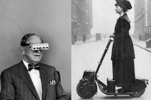 14 weird and wonderful tech concepts and inventions that were well before their time