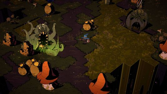 Wizard With A Gun is a co-op shooter with Don't Starve vibes