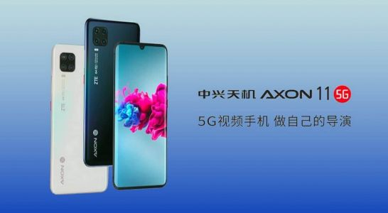 ZTE Axon 11 5G now available for purchase in China