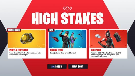 Fortnite Adds New Items Ahead Of Season 6