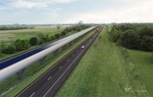 Hyperloop One Missouri route would reduce 3.5 hour trip to 28 minutes