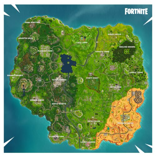 Fortnite's Map Gets Some Changes In Season 5