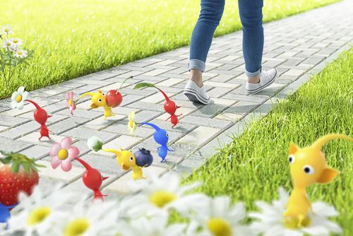 Nintendo and Pokemon Go's Niantic announce a new Pikmin mobile AR game