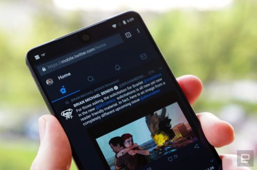 Twitter Windows 10 PWA gets a night mode and more