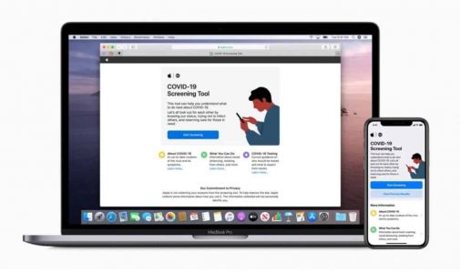 Covid-19:  Apple lance un site web et une application d'information