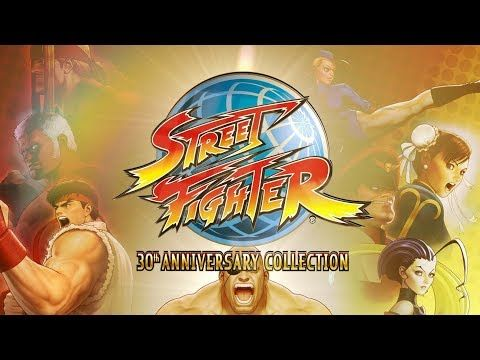 Celebrate Street Fighter's 30th anniversary with 12 classic titles next May