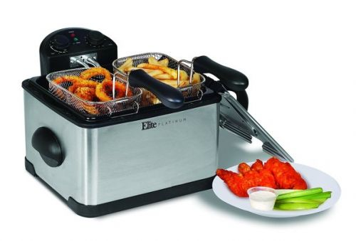 This $40 dual-basket deep fryer cooks up delicious food that's totally worth the calories