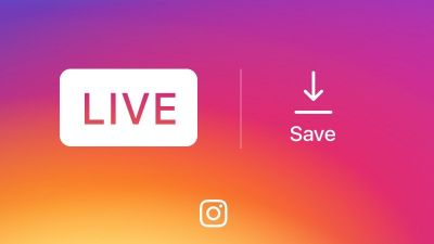 Going live on Instagram? Now you can save live videos to your phone