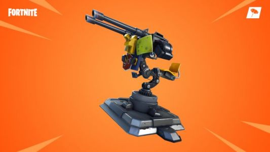 Fortnite patch notes introduce Mounted Turret, Food Fight LTM