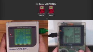 Modder adds online multiplayer to Tetris on the Game Boy
