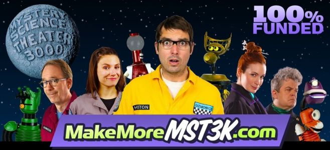 MYSTERY SCIENCE THEATER 3000 Kickstarter Collects Above and Beyond Goal, Giving Fans a New Season