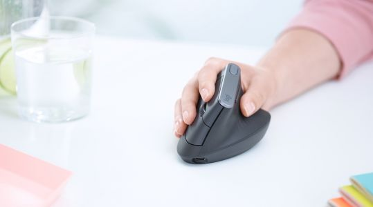 Logitech's vertical mouse could save your wrist