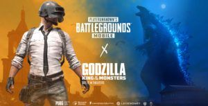 Godzilla: King of the Monsters content comes to PUBG Mobile
