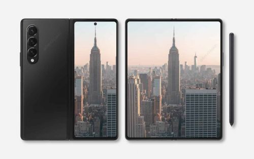 Take A Closer Look At Likely Galaxy Z Fold 3 Design