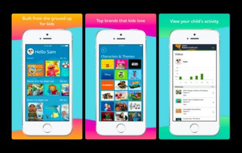 Amazon FreeTime Unlimited launches on iPhone and iPad