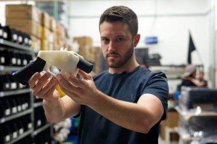 Engineers have found a way to track 3D-printed guns back to their source