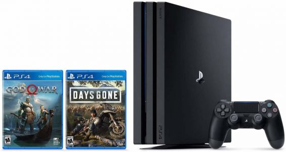 PS4 Prime Day Deal: PS4 Pro Console With God Of War And Days Gone For Only $350