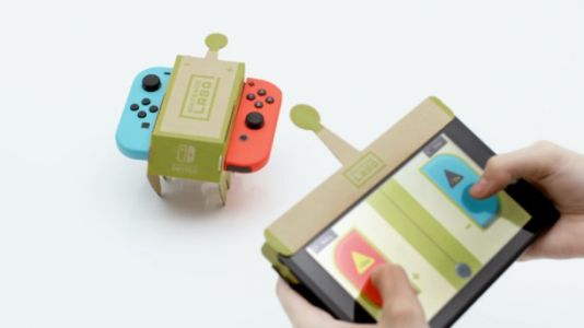 Nintendo Announces Labo, A Cardboard-Software Hybrid For The Switch