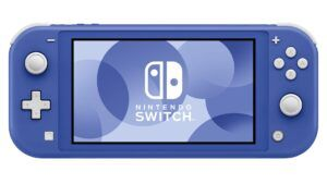 Nintendo's new 'Blue' Switch Lite launches May 21st