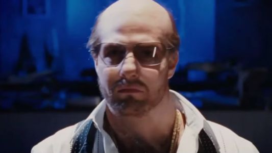 Tom Cruise Comes Back as His TROPIC THUNDER Character Les Grossman on CONAN