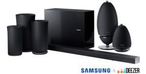 Samsung now supports Deezer HiFi lossless audio on some soundbars and wireless speakers