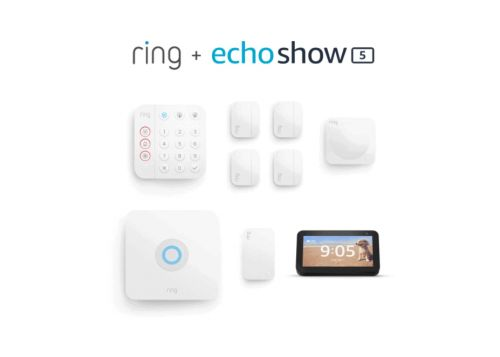 Bundle The 8-piece Ring Alarm Kit With The Echo Show 5 For Just $299!