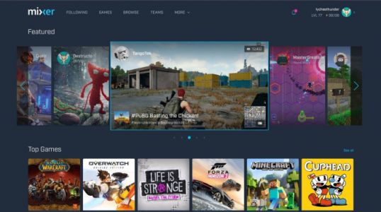 Microsoft's Twitch rival Mixer gets a revamp, including new developer tools for interactive gameplay