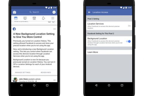 Facebook now lets you block background location tracking on Android