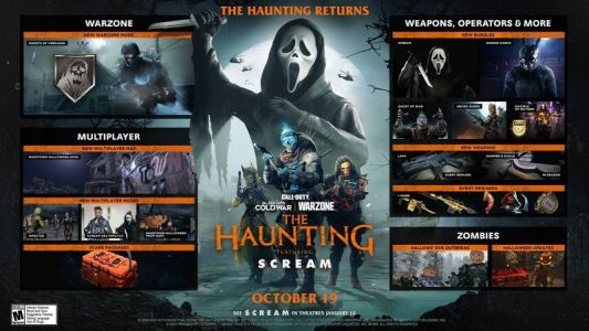 Call of Duty gets spooky with Season 6: The Haunting event
