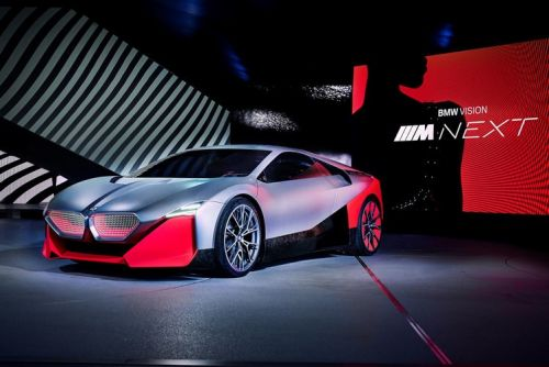 BMW Vision M Next imagines a next-gen i8 replacement
