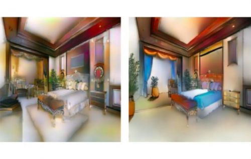 Adobe Scribbler AI can create a realistic color image from a sk