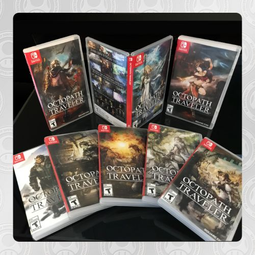 Switch's Octopath Traveler Gets Eight Alternate Box Art Options On My Nintendo