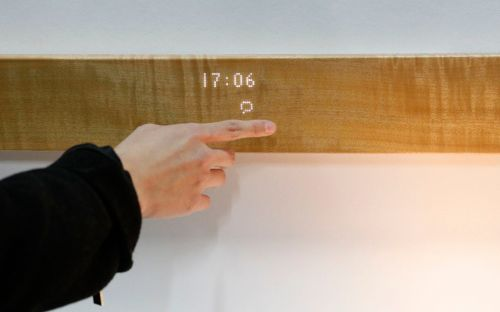 CES 2019: The 'smart' plank of wood that lets you control your home