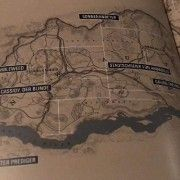 Red Dead Redemption 2 Leak Reveals The Full Map