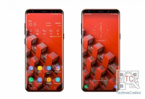 Sketchy Galaxy S9 Render Leaks With A Fake Real Life Image