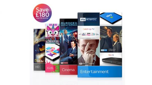 Hurry! This HD Sky TV deal's £180 saving expires at midnight tonight