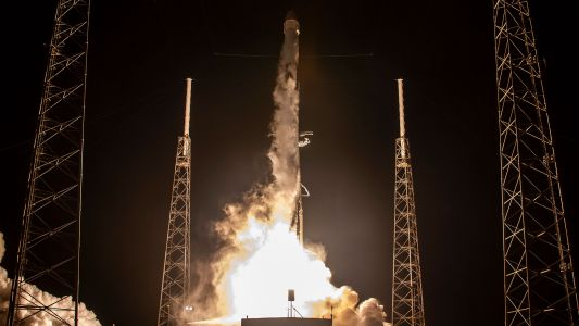 SpaceX tests Falcon 9 rocket for Starlink satellite fleet launch