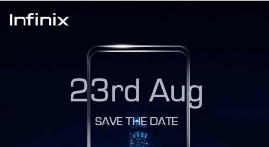 Infinix sends out invitations for August 23 event in India