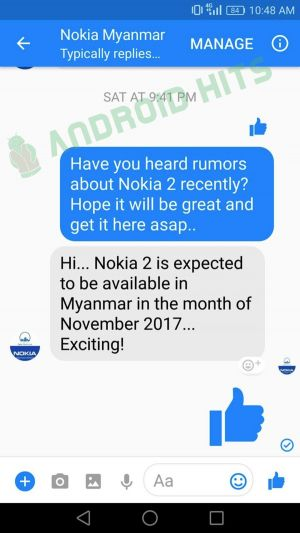 Rumor: HMD To Launch Android-Powered Nokia 2 In November