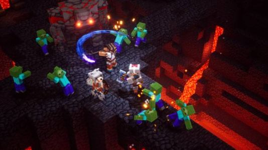 'Minecraft Dungeons' review: Diabolically simple