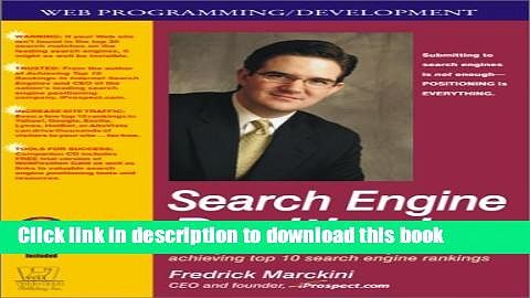 Books Search Engine Positioning with CDROM Full Download