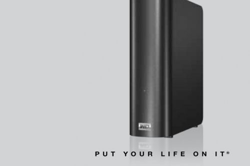 Unplug your WD My Book Live, or you might find your drive's data wiped