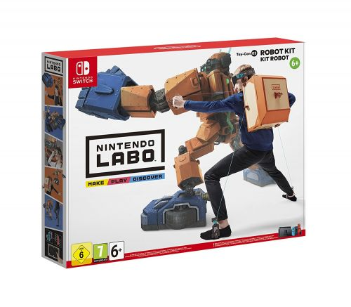 UK Daily Deals: Preorder Nintendo Labo Kits from £60, Customization Set for £9