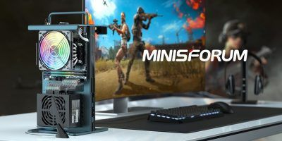 MINISFORUM's Game Mini will be a compact, open frame gaming PC powered by AMD