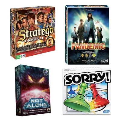 Play an old school classic or pick something new in this one-day board game sale