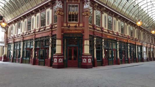 Leadenhall Market to be filled with neon lights from Hollywood movies