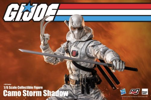 New G.I. JOE 1/6th Scale Storm Shadow Action Figure Gives Him His Own Wolverine Claws