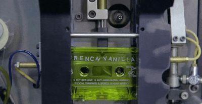 Watching cassette tapes get made is like nostalgic mediation